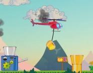 العاب الهليكوبتر نقل الاشياء