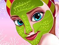 العاب frozen makeup