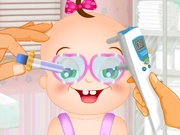 العاب طبيب عيون اطفال
