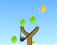 لعبة البالونات للاطفال