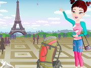 العاب تلبيس بنات باريس