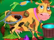 تنظيف البقرة الضاحكة