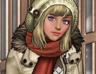 العاب تلبيس ملابس الشتاء
