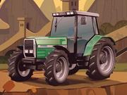 لعبة سيارات جرار المزرعة الجديدة لهذا العام