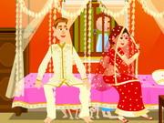 لعبة تلبيس العروس الهندية الرائعة