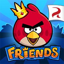 الطيور الغاضبة الأصدقاء