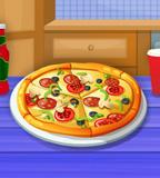 تحضير البيتزا السهلة