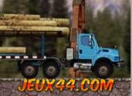 لعبة نقل الخشب بالشاحنات