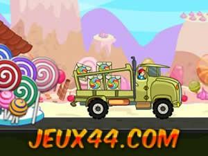 شاحنة نقل الحلويات