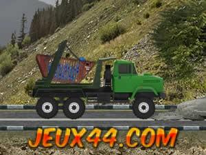 لعبة عربة نقل الزبالة