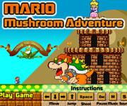 مغامرة الفطر العاب ماريو